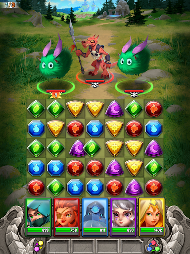 Dragon Strike: Puzzle RPG 0.3.7 screenshots 12
