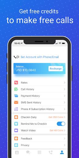 WePhone - Free Phone Calls & Cheap Calls 20102318 Screenshots 8