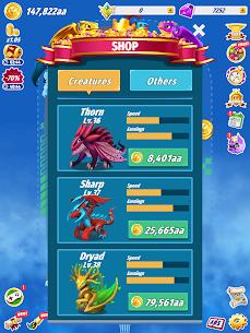 Dragons Evolution Mod Apk- Best Merge Idler (All Boost Active) 8