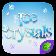 Ice Crystals GO Keyboard Theme  Icon