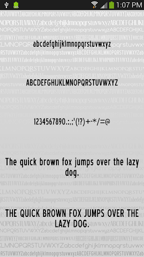 Fonts Clean for FlipFont® Free For PC Windows (7, 8, 10, 10X) & Mac Computer Image Number- 10