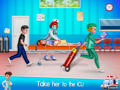 Ambulance Doctor Hospital - Rescue Game  screenshots 16