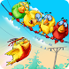 Birds On A Wire: Free Match 3 - Androidアプリ