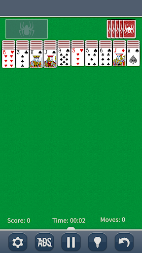 Spider Solitaire Classic modiapk screenshots 1