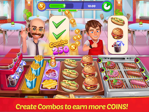 Restaurant Master : Kitchen Chef Cooking Game  screenshots 13
