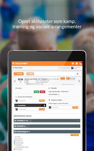 Holdsport - Hurtig tilmelding & kontingentbetaling 6.6.348 screenshots 7
