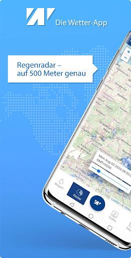 Wetter.net u2013 dein Wetter mit Regenradar 2.6 Screenshots 4