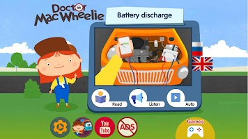 Doctor McWheelie: Battery discharge animated book