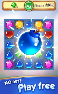 Jewel & Gem Blast - Match 3 Puzzle Game Screenshot
