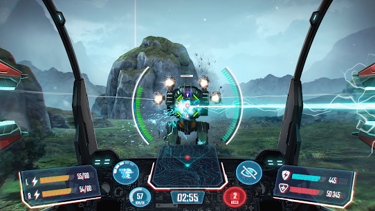 Robot Warfare: Mech Battle 3D PvP FPS Hack Game Android & iOS 1