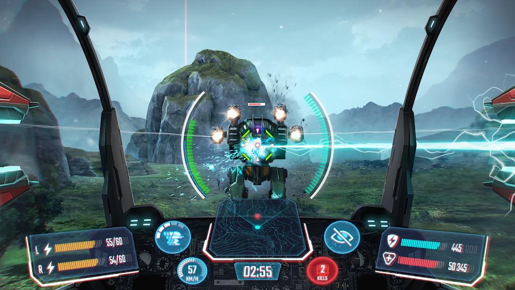 Robot Warfare: Mech Battle 3D PvP FPS  poster 0