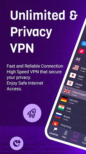 VPN King - Free VPN Proxy Server & Secure VPN App apktram screenshots 3