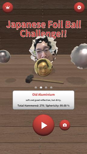 japanese foil ball challenge!! screenshot 1