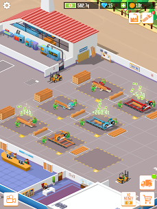 Idle Lumber: Factory Tycoon Mod Apk 1.3.0 (Money Increases) 8