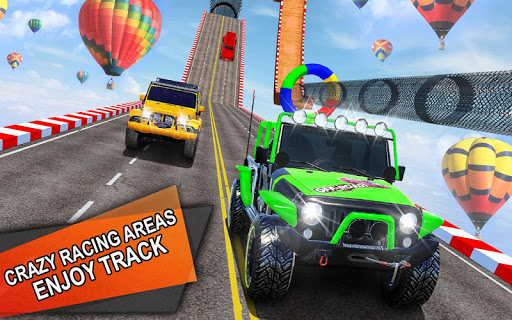 Impossible Jeep Stunt Driving: Impossible Tracks  screenshots 2