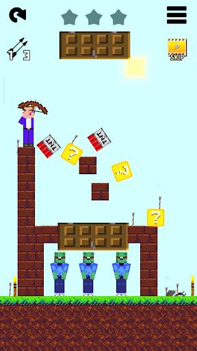 Mr Noob vs 1000 zombies - Lucky Block story apktram screenshots 5