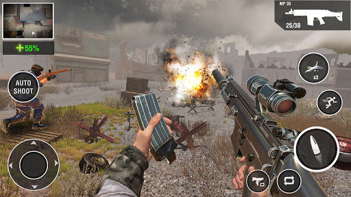 Call of the WW2 Gun Games: Counter War Strike Duty goodtube screenshots 10