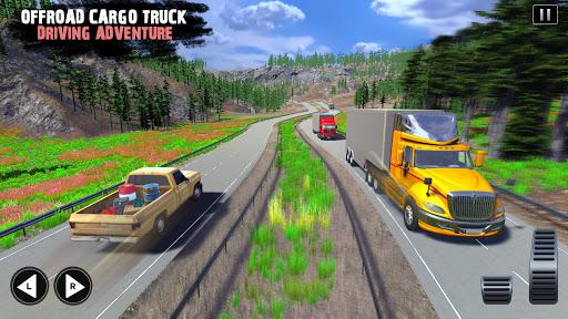 Offroad Cargo Truck Driver: 3D Truck Driving Games 4.7 Screenshots 8