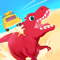 Dinosaur Guard - Jurassic! Driving Games for kids