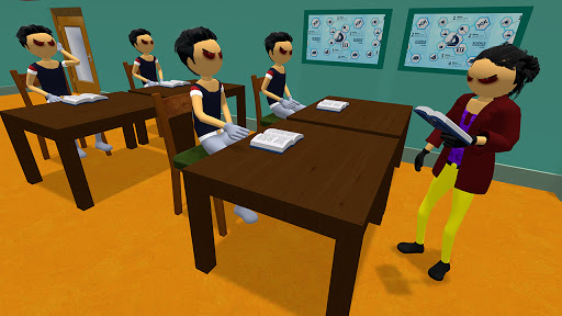 Virtual Stickman Family Life Adventure: Stick Game apkpoly screenshots 2