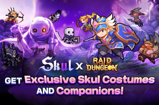 Raid the Dungeon : Idle RPG Heroes AFK or Tap Tap apkmr screenshots 1