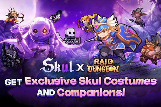 Raid the Dungeon : Idle RPG Heroes AFK or Tap Tap 1.8.1 screenshots 1