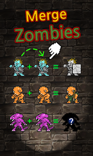 Grow Zombie inc - Merge Zombies Screenshot