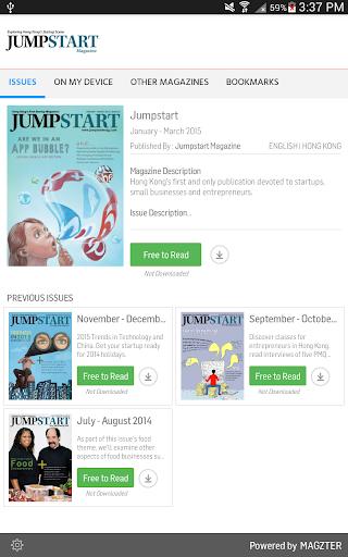 Jumpstart 7.7.5 Screenshots 1