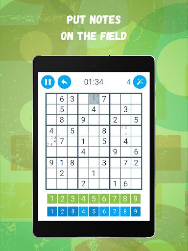 Sudoku: Train your brain screenshots 15