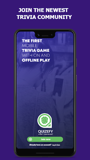 Quizefy u2013 Live Group, 1v1, Single Play Trivia Game  screenshots 1