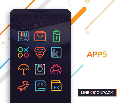 LineX Icon Pack  screenshots 7