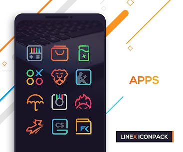 LineX Icon Pack Apk 3.9.1 (Paid) 7