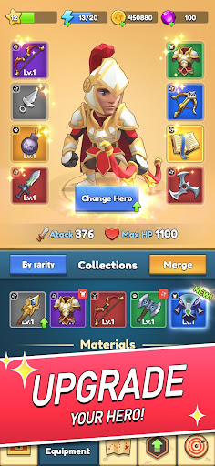 Magic Archer: Hero hunt for gold and glory apkslow screenshots 5