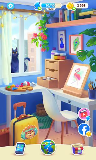 Color Stories - color journey, paint art gallery apkpoly screenshots 18