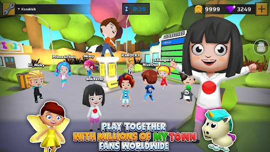 My Town World: 3D Mini Games for Kids 2