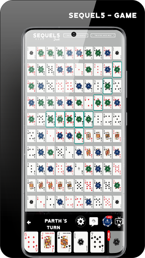 Sequence: Sequel5 Online Multiplayer Board Game 6.0.4 screenshots 3