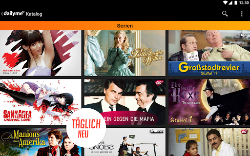 dailyme TV, Serien, Filme & Fernsehen TV Mediathek  screenshots 20