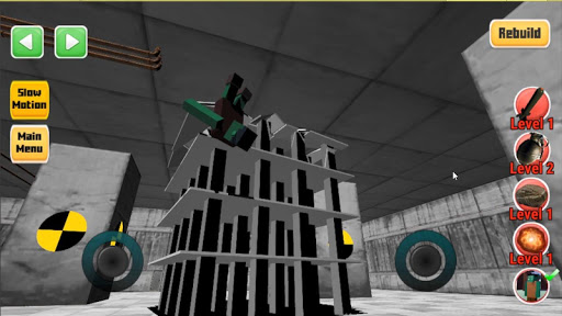 Destroy it all! Physics destruction, Fun Ragdolls 43 screenshots 2