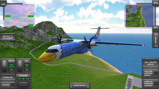 Turboprop Flight Simulator 3D 1.24 screenshots 7