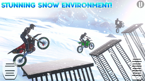 Snow Tricky Bike Impossible Track Stunts 2021 1.6 Screenshots 2