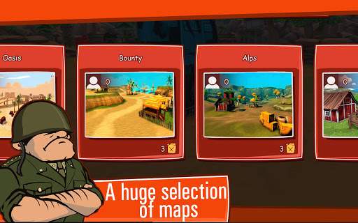 Toon Wars: Awesome PvP Tank Games  screenshots 13