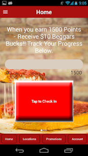 Beggars Pizza Loyalty