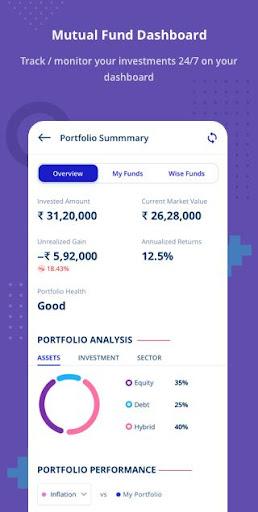 Free Credit Score, Loans, Cards & Mutual Funds screenshots 6