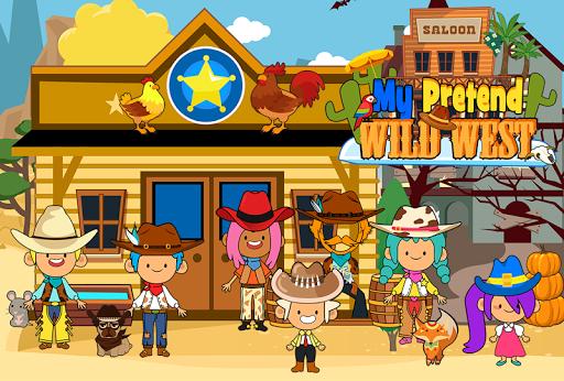 My Pretend Wild West - Cowboy & Cowgirl Kids Games https screenshots 1