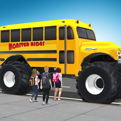 Baixar Super High School Bus Driving Simulator 3D - 2020 para Android