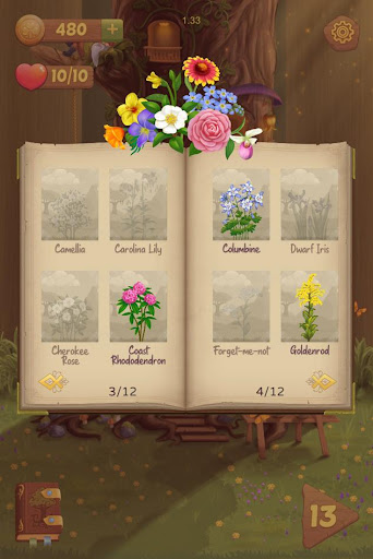 Flower Book: Match-3 Puzzle Game 1.149 screenshots 4