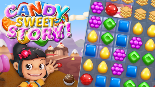 Candy Sweet Story: Candy Match 3 Puzzle  screenshots 6