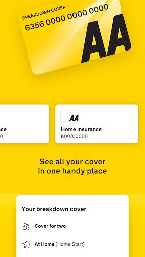 The AA membership & breakdown reporting app apktram screenshots 2