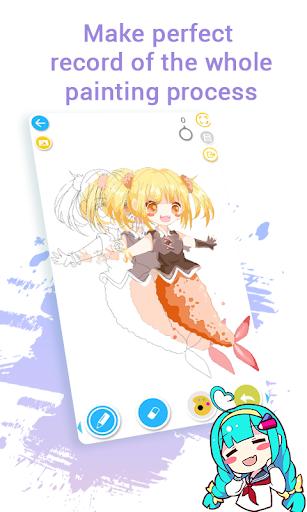 Anime Drawing Tutorial Maker - DrawShow Tutor 2.2.2.0 Screenshots 4