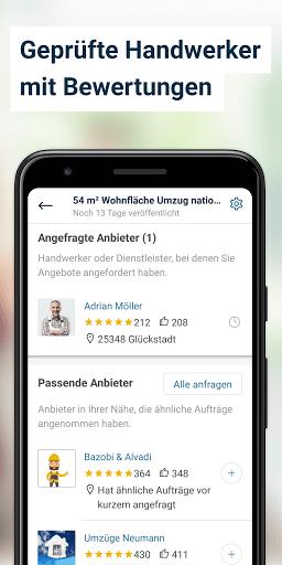 MyHammer Handwerkersuche ud83dudd28 4.1.0 Screenshots 4